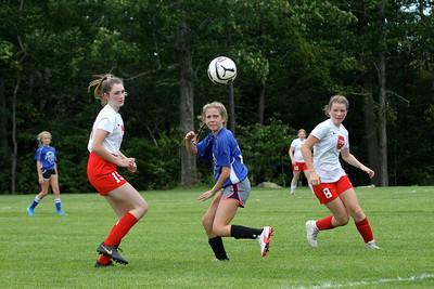 LTS M.S. Girls Soccer vs Dorset II photos by Gary Baker
