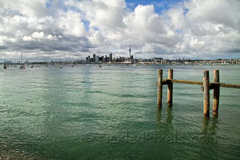 Auckland from Northcote Point