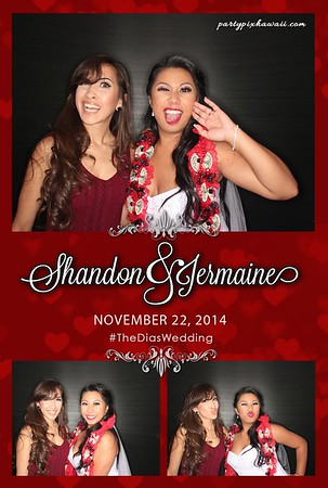 Jermaine & Shannon's Wedding (Luxury Photo Pod)