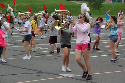 Raider Band Practice, Tamaqua Middle School, Tamaqua (8-20-2012)