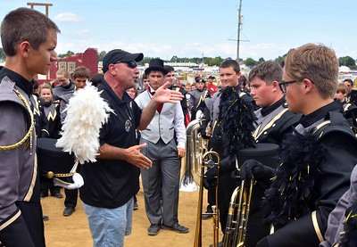 Noblesville High School Band Day at State Fair 2016