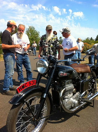 Vintage BMW Motorcycle Show