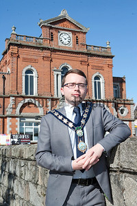Newry and Mourne Mayor Daire Hughes. R1434014