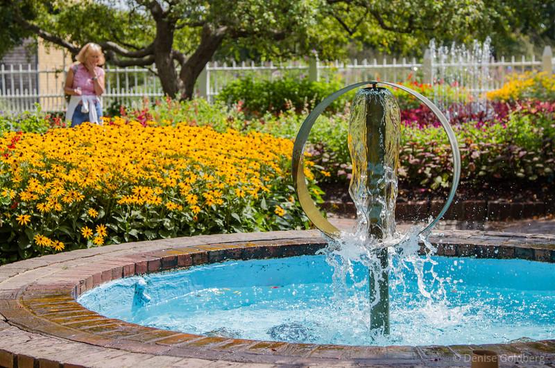 Prescott Park fountain