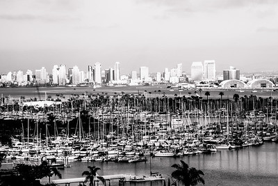 Scenes from San Diego in Black & White