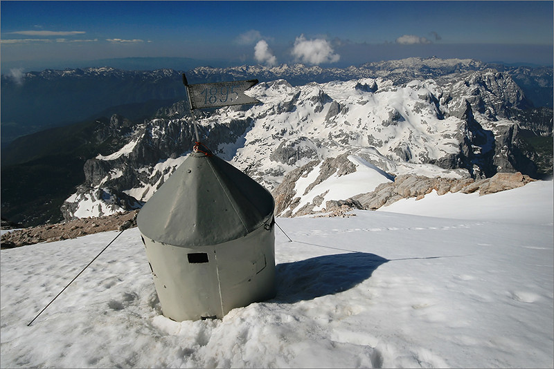 At the top of Slovenia