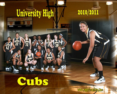 2010 UHS GIRLS BASKETBALL