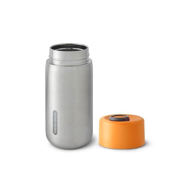 Insulated Travel Cup orange Black Blum