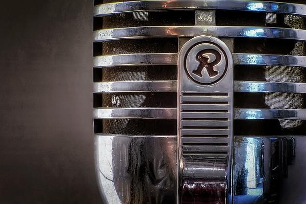 Retro Microphone - $12