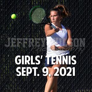 Prairie Girls Tennis 9-9-2021