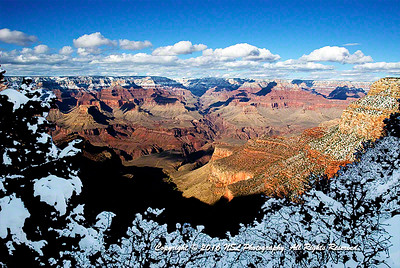 Winter in Grand Canyon National Park