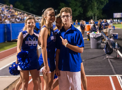 MHS vs Franklin - Cheer (08-29-14)