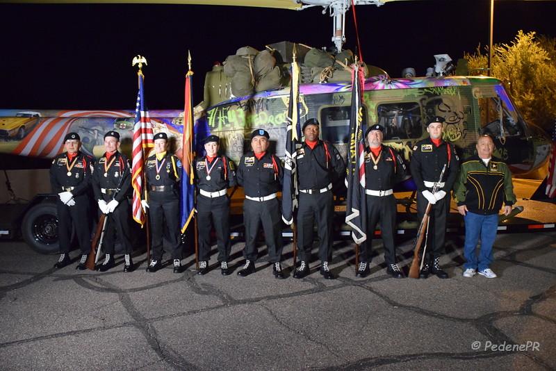 The POW/MIA/KIA Honor Guard