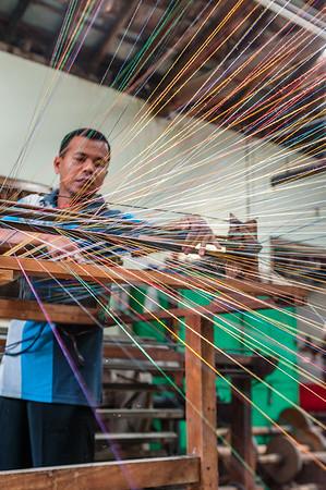 Kurnia Lurik Hand Weaving Company - Indonesia
