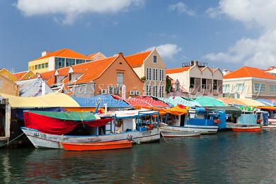 Curacao, Willemstad, Punda Market
