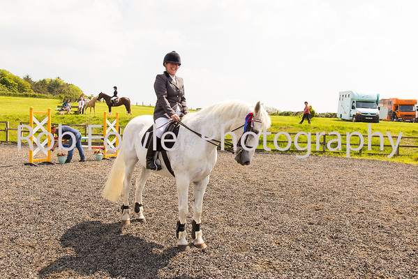 Laurie Cutforth riding Gally
