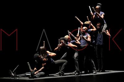 POUGHKEEPSIE, NY - MAY 06:  Step Afrika! performs at the 1869 Bardavon Opera House.