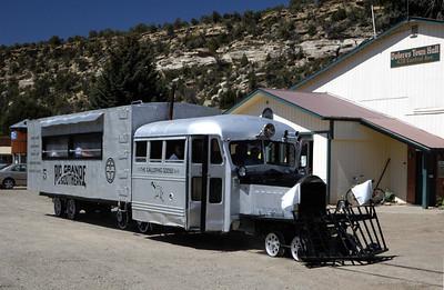 Colorado: Rio Grande Southern Railroad and its galloping geese, 2008