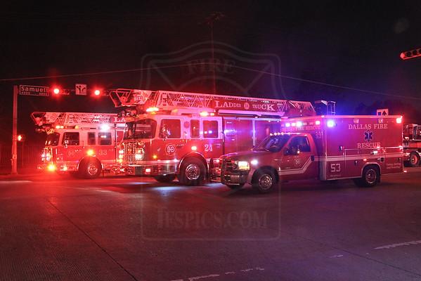 Dallas, TX - April 12, 2014 - 4th Alarm - 7532 Hunnicut Road