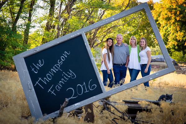 Thompsan Family 2016