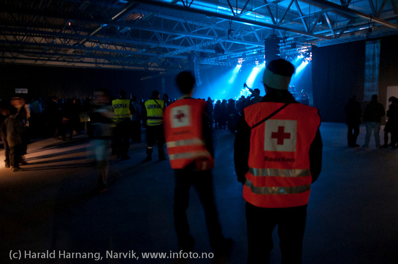 Åpningsseremoni og åpningskonsert på Nordkraft Arena.