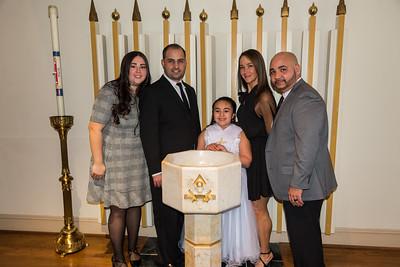 Olivia's Baptism 2020 Mar 8