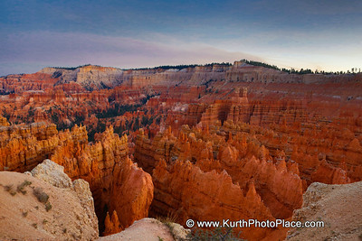First Photos of Bryce Canyon