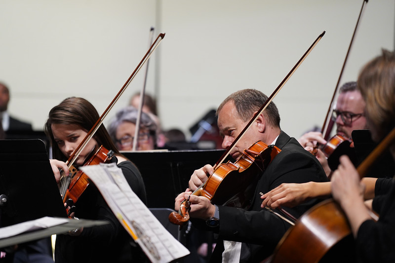 Orchestra featuring Mark and Maggie O' Connor