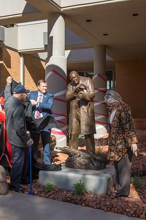Andrew Barnum Statue