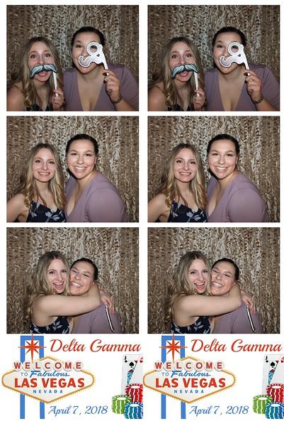 """Las Vegas"" Delta Gamma Formal 2018"
