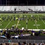 CSHS Band Halftime Performance 11/01/2012