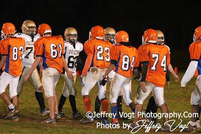 10-19-2009 Watkins Mill HS vs Poolesville HS JV Football, Photos by Jeffrey Vogt Photography