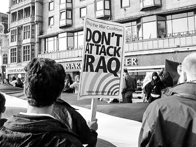 2003 : 'Not in My Name' Protest [Edinburgh]