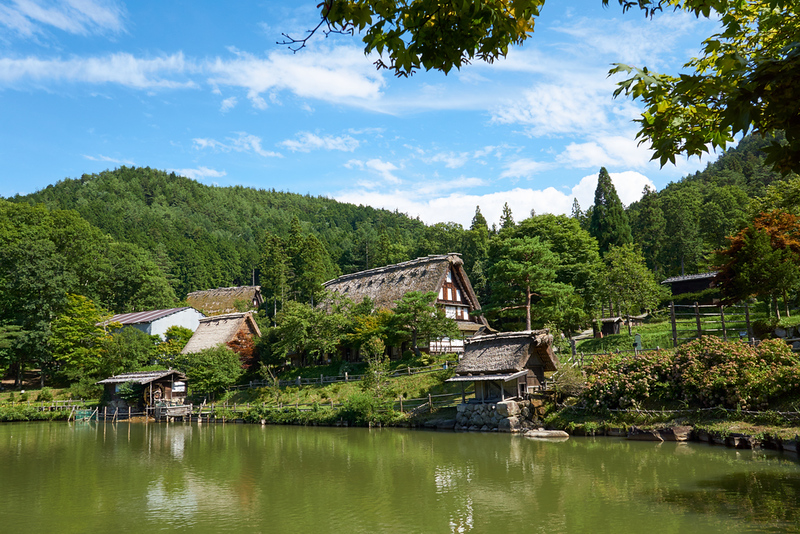 Hida Folk Village. Editorial credit: Urban Napflin / Shutterstock.com