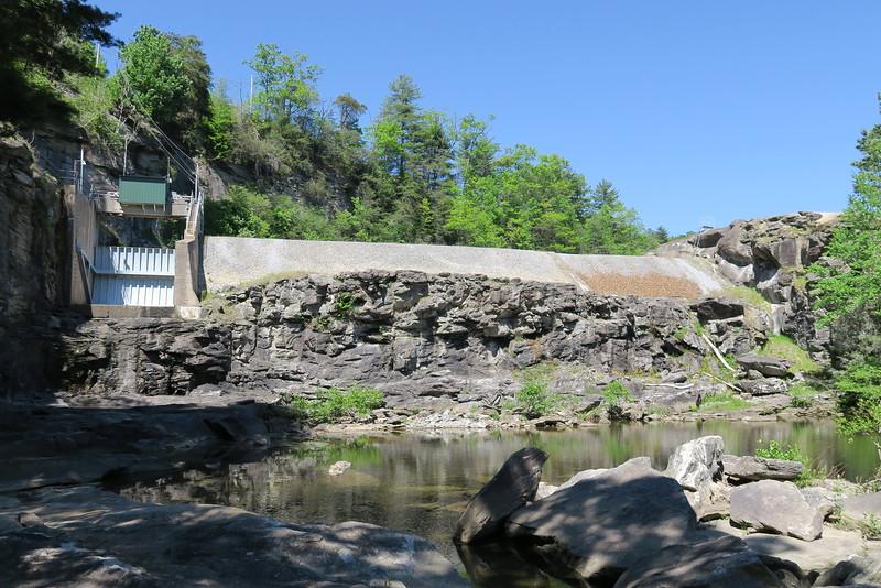 Tanasee Creek Lake Dam
