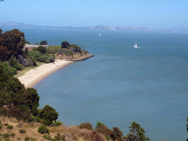 Quarry Beach on Angel Island