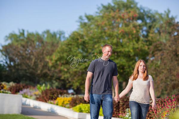 Teresa and Brent