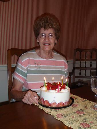 Mom's 75th Birthday - 2008