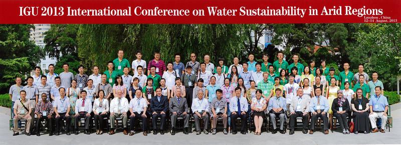 20130812 第十屆國際地理聯合會(IGU)乾旱區水資源可持續發展大會