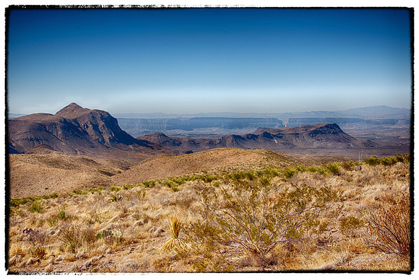 Big Bend National Park - Castolon and Santa Elena Canyon