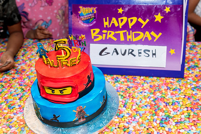 Gauresh 5th bday