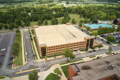 2019 UWL Parking Lots Drone Aerials