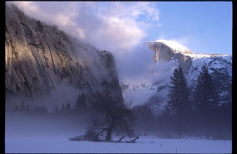 Yosemite National Park, CA Winter in Yosemite Valley