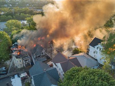 Lounsbury St. Multi Alarm Fire (Waterbury, CT) 5/17/17