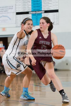 Ladies Varsity Basketball - Eaton Rapids at Lansing Catholic