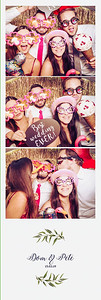 Dom + Pete - photobooth at Elmore Court