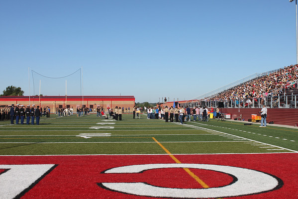 Claremore High School 9/11 Remembrance