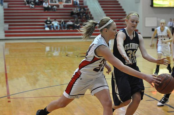 JV Girls Basketball vs Elkhorn South 1-14-11