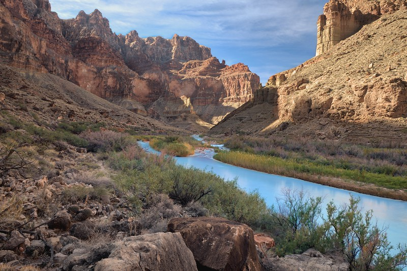 (2017-November 6-10) Tanner and Beamer to the Little Colorado River Gorge.  Grand Canyon National Park, Arizona.