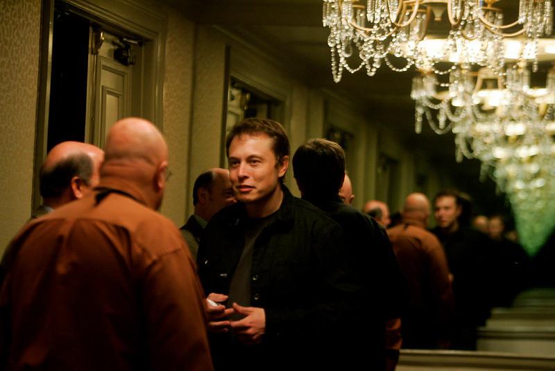 (L-R): Jim Peoples, Robert Hagerty, and Elon Musk; Jim Peoples, Robert Hagerty, and Elon Musk; Jim Peoples, Robert Hagerty, and Elon Musk...